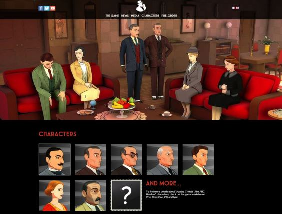 Image result for The ABC Murders PC game